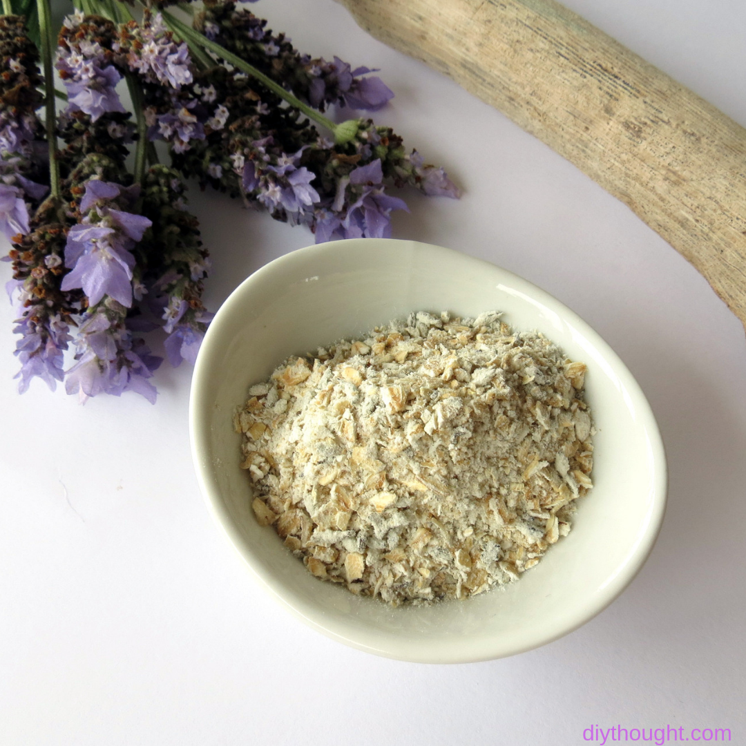 lavender and oat bath soak recipe