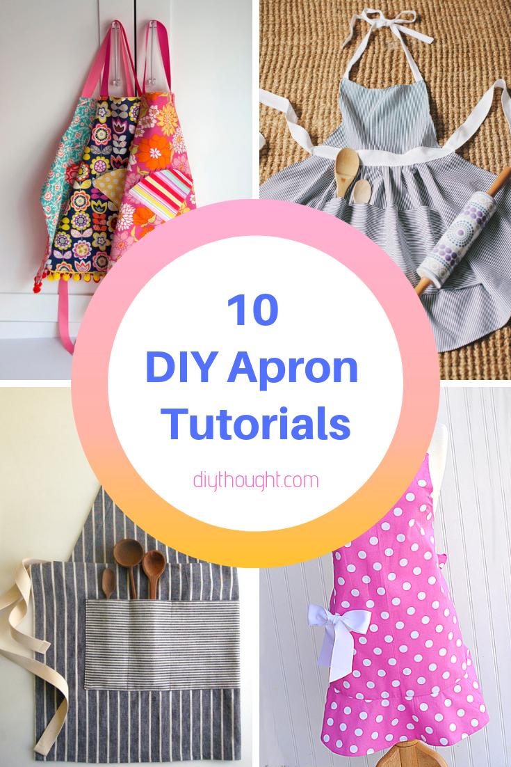 10 DIY apron tutorials