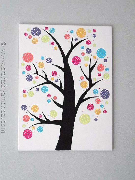 11-11-diy-spotty-dotty-circular-wall-art-projects