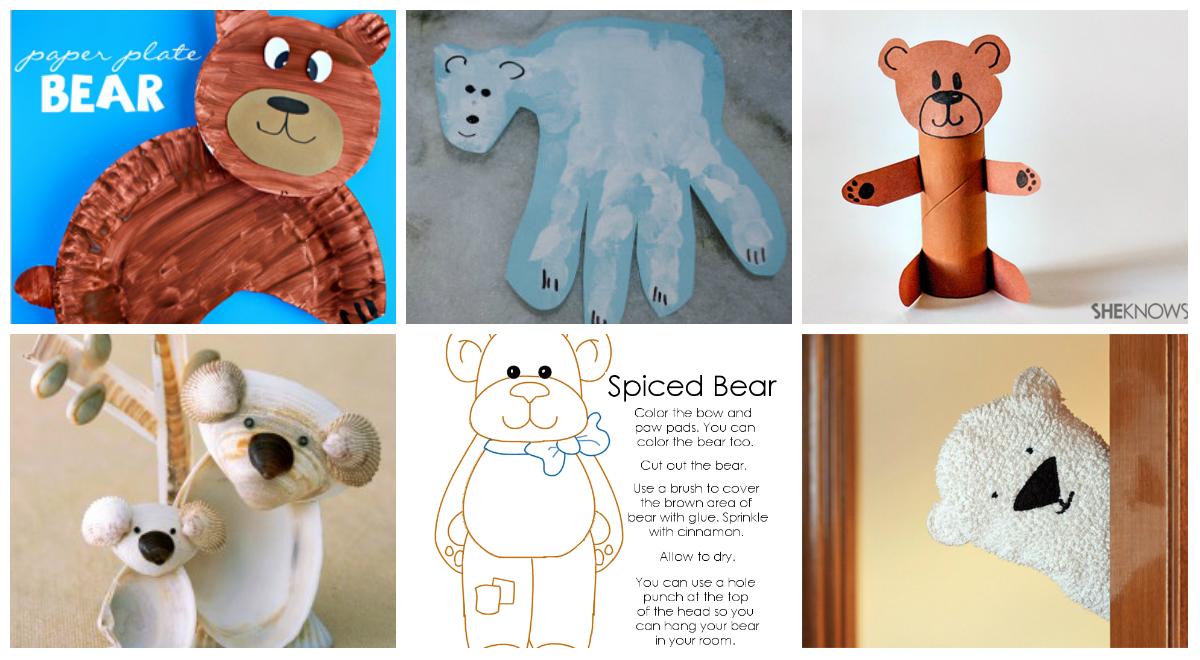 8 Fun Bear Crafts That Preschoolers Will Love
