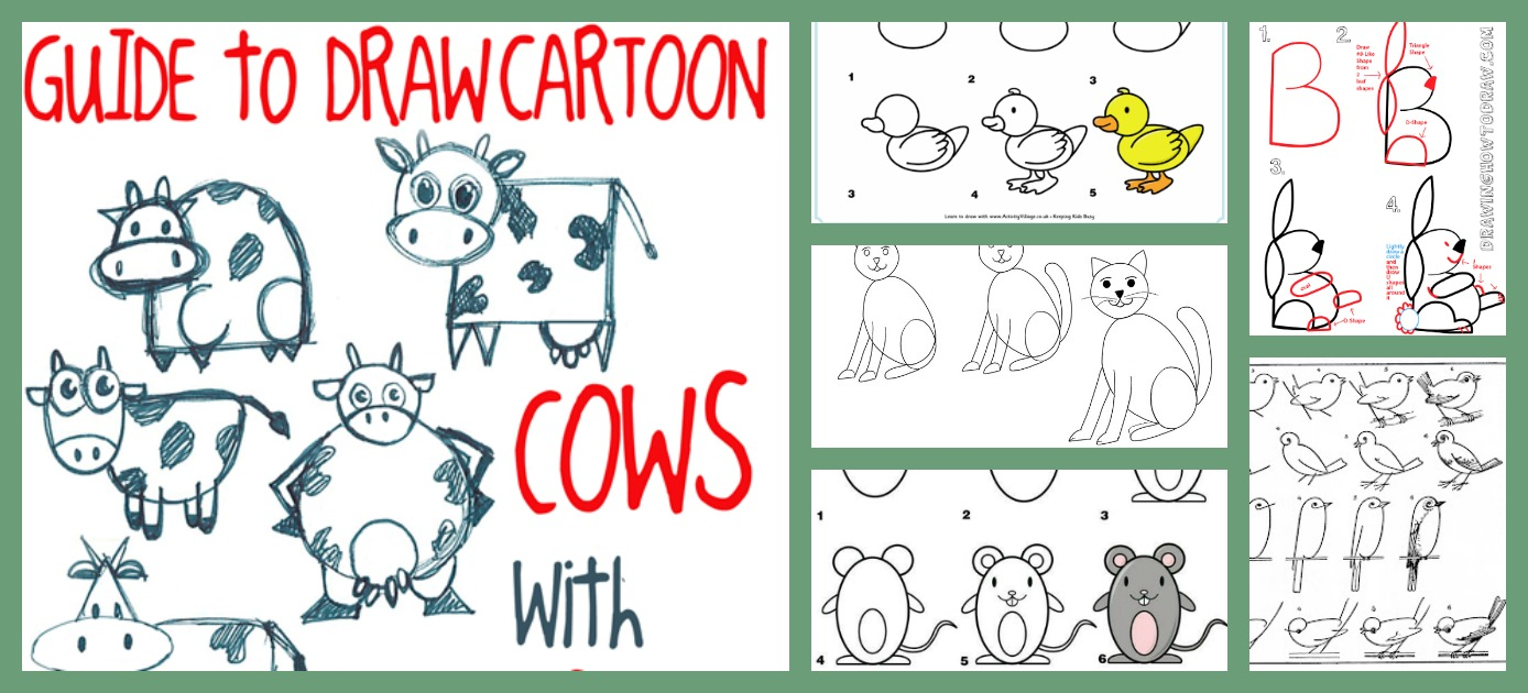 How To Draw Animals Diy Thought