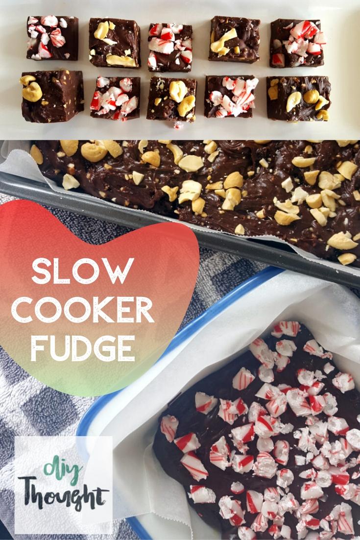 slow cooker fudge recipe
