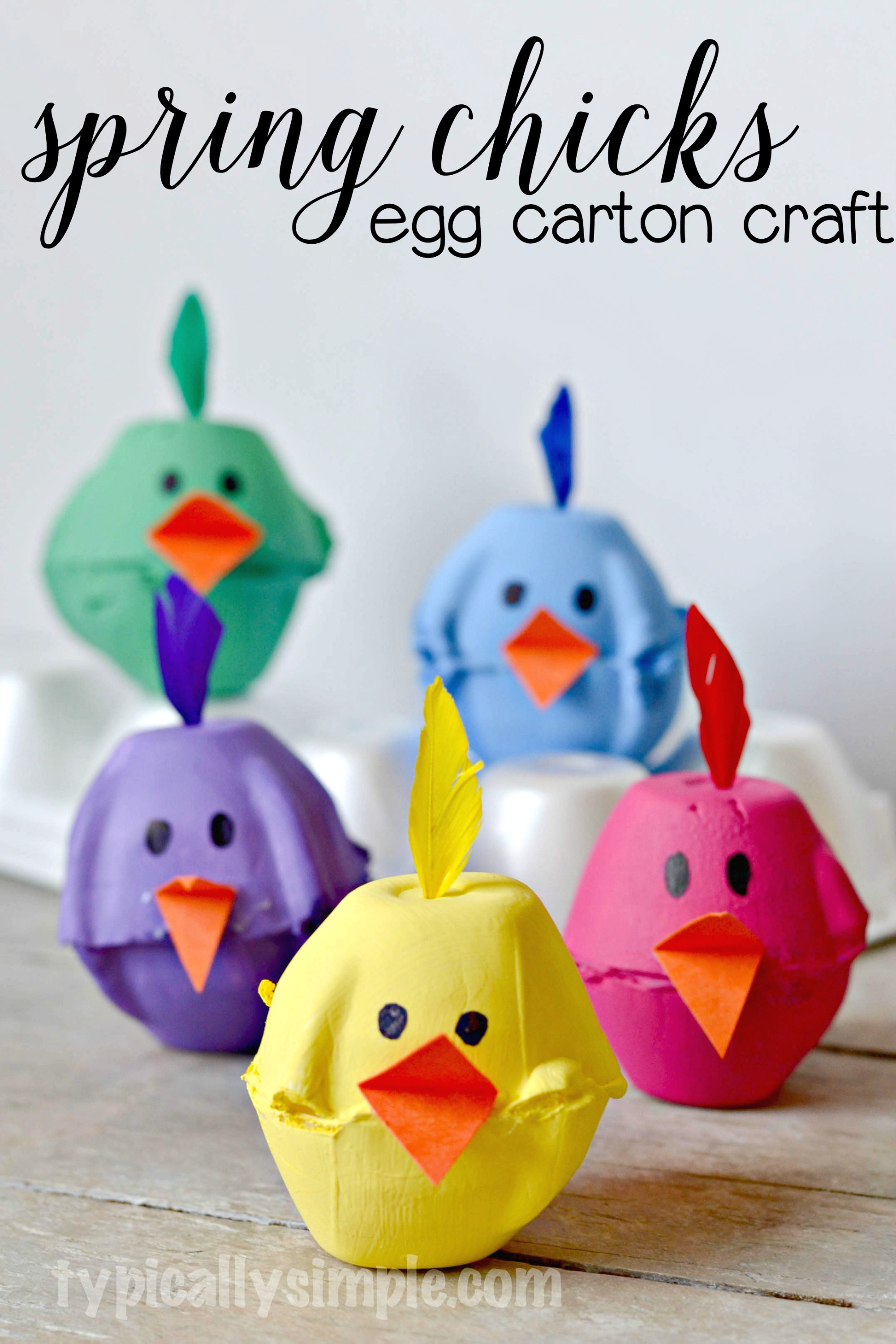 8 Easy Easter Crafts For Kids Diy Thought