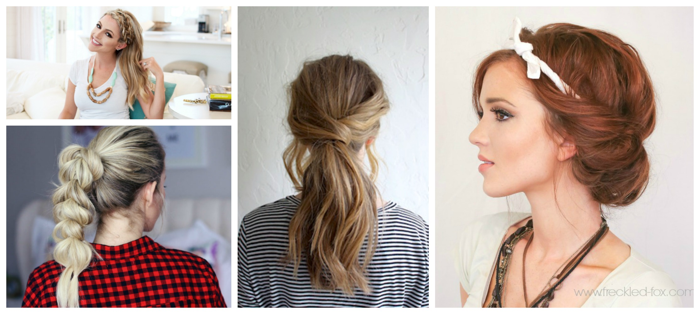 8 Quick & Easy Hairstyles That Make Dirty Hair Look Fab ...