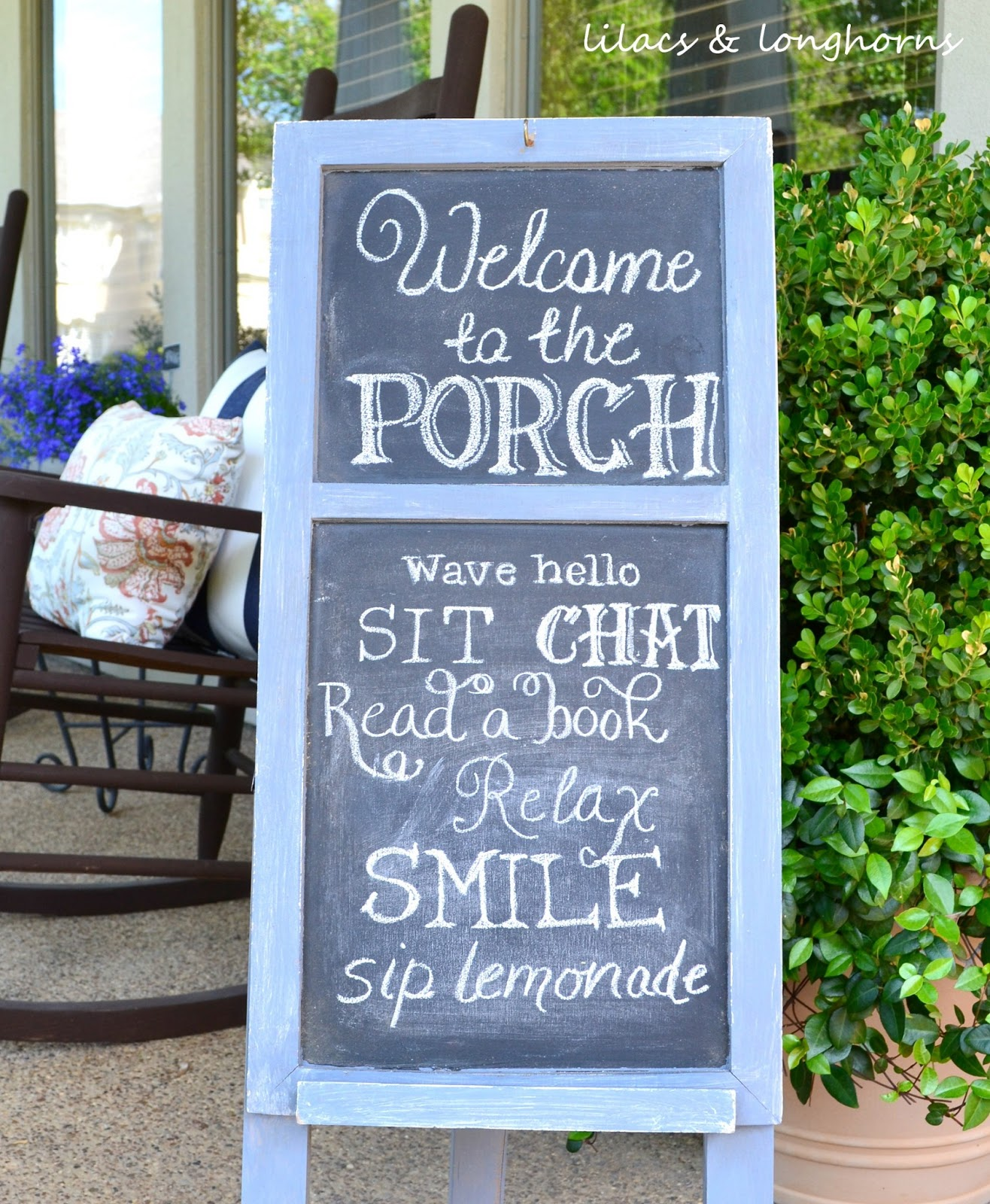 10 Diy Welcome Signs For Your Front Porch Diy Thought
