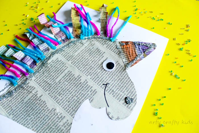 7 Kids Animal Paper Crafts Diy Thought