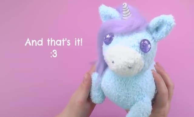 sock unicorn