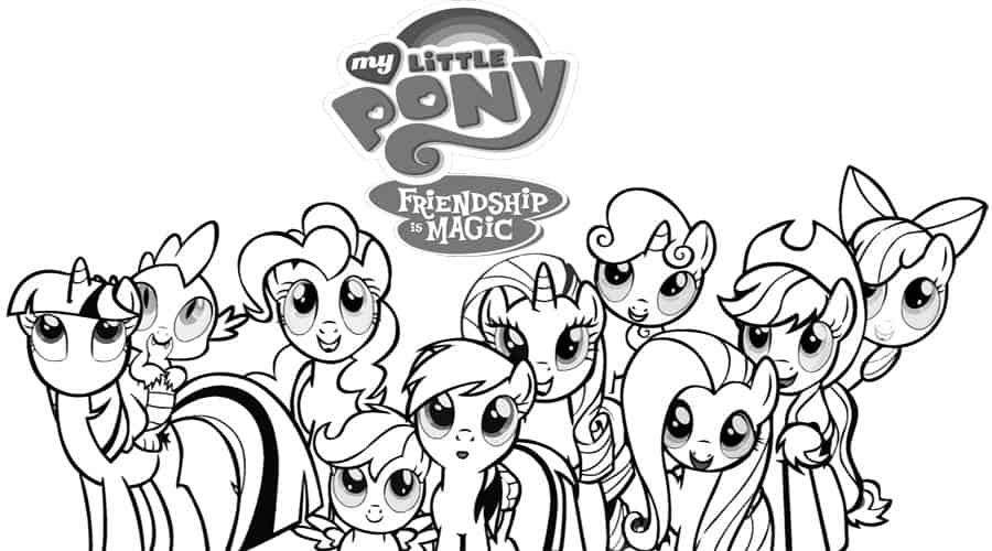 Free My Little Pony Kids Printables - Diy Thought