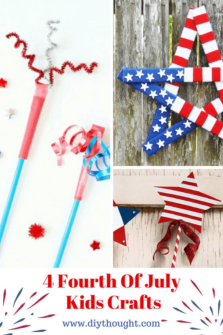 4 Fourth Of July Kids Crafts