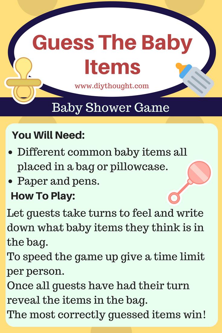 7 Fun Baby Shower Games