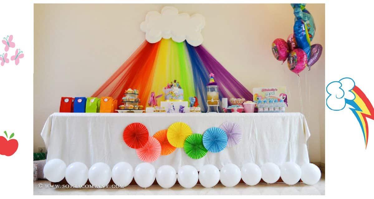 Diy My Little Pony Birthday Party