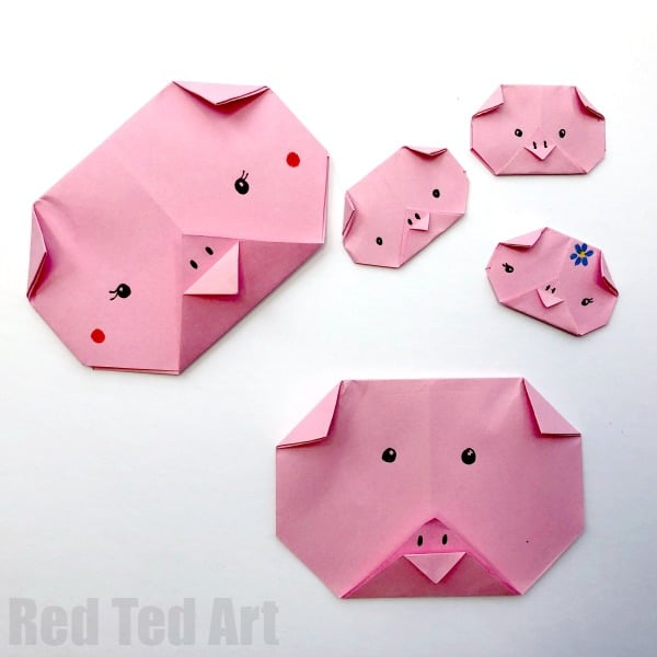 8 Pig Crafts For Chinese New Year Diy Thought