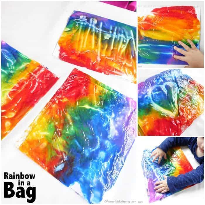 Rainbow in a bag