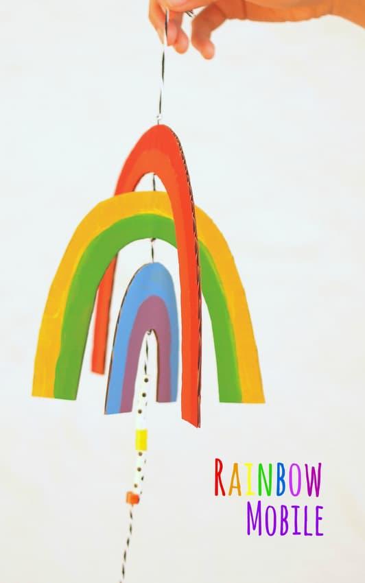 Rainbow mobile