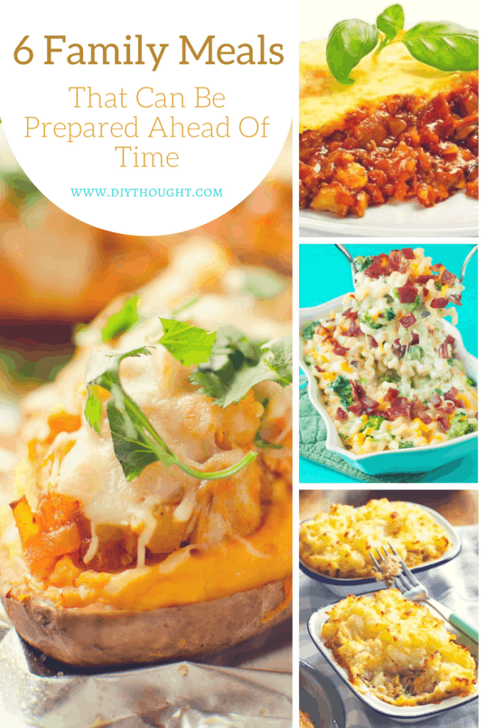 prep early family meals