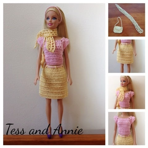 Barbie Spring Crochet Pattern