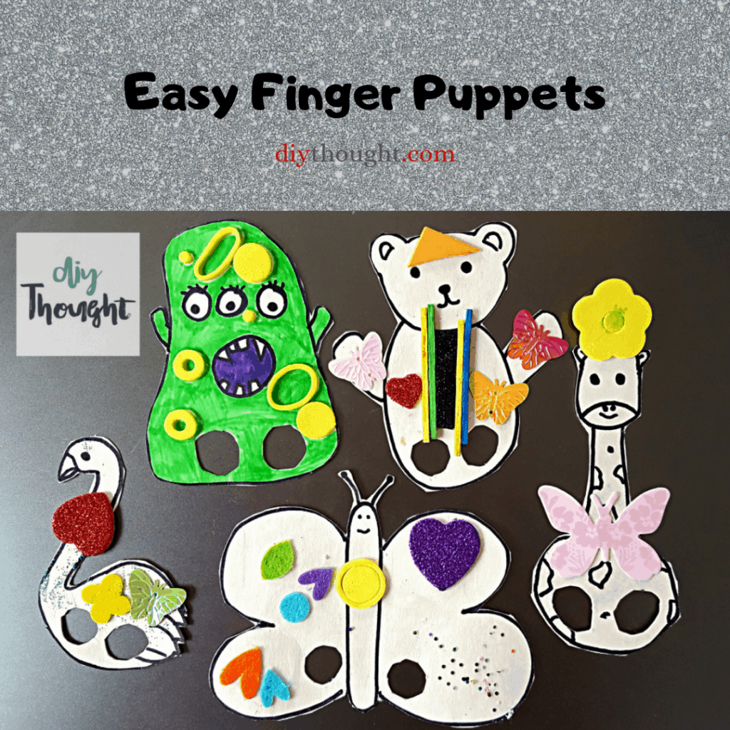 easy finger puppets