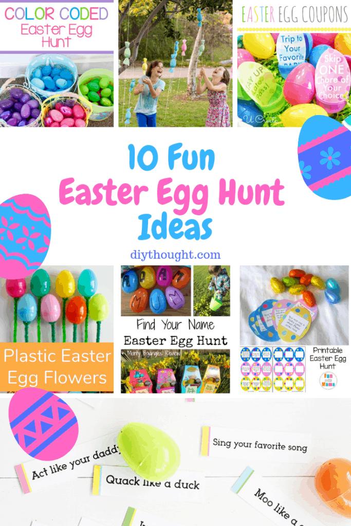 fun easter egg hunt ideas