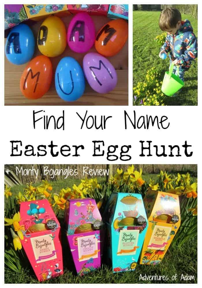 Letter egg hunt