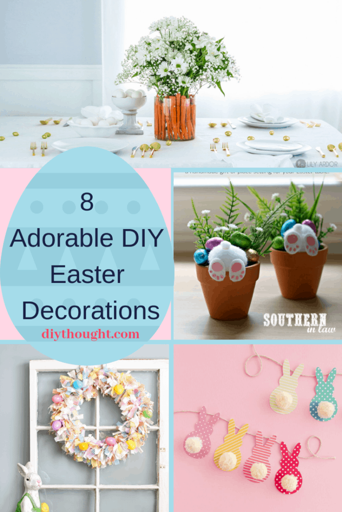 adorable DIY Easter decorations