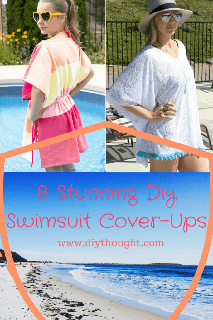 DIY swimsuit cover-ups