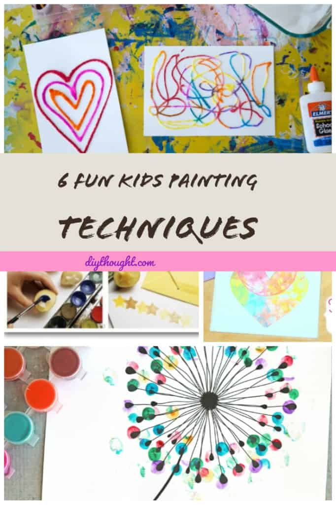 kids painting techniques