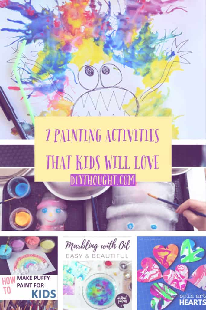 7 Painting Activities That Kids Will Love