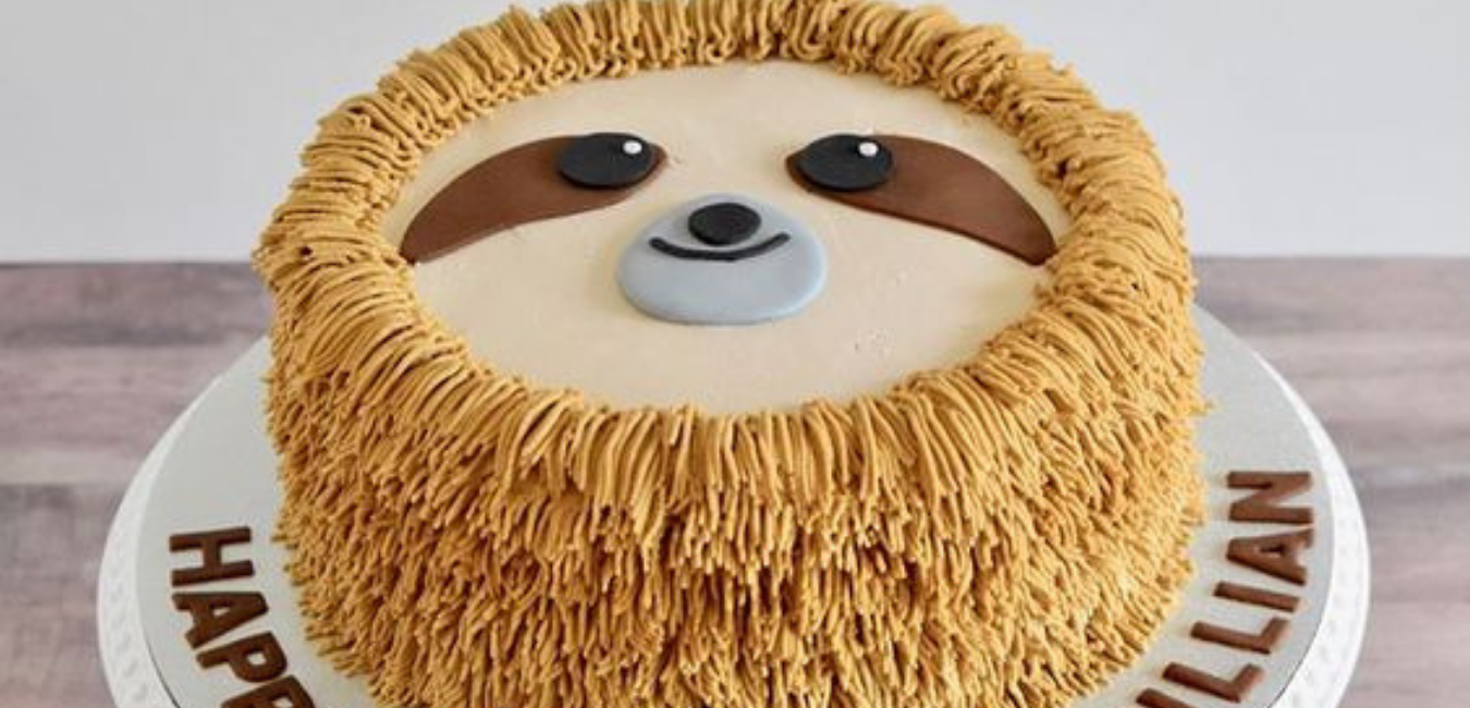 5 Totally Adorable Sloth Cakes - diy Thought
