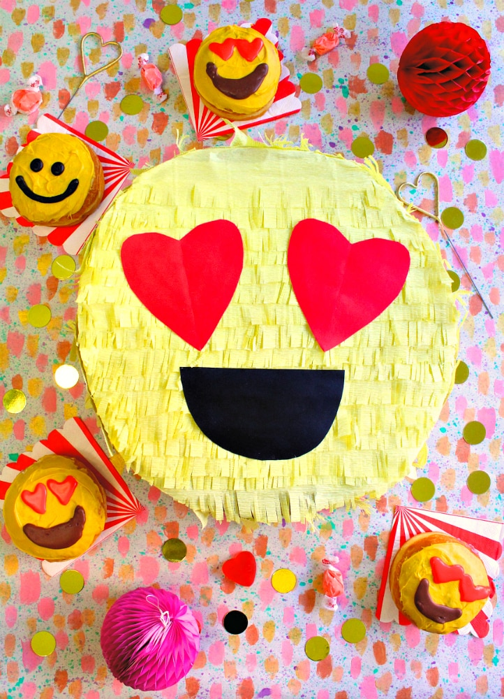 Emoji Birthday Party Pinata