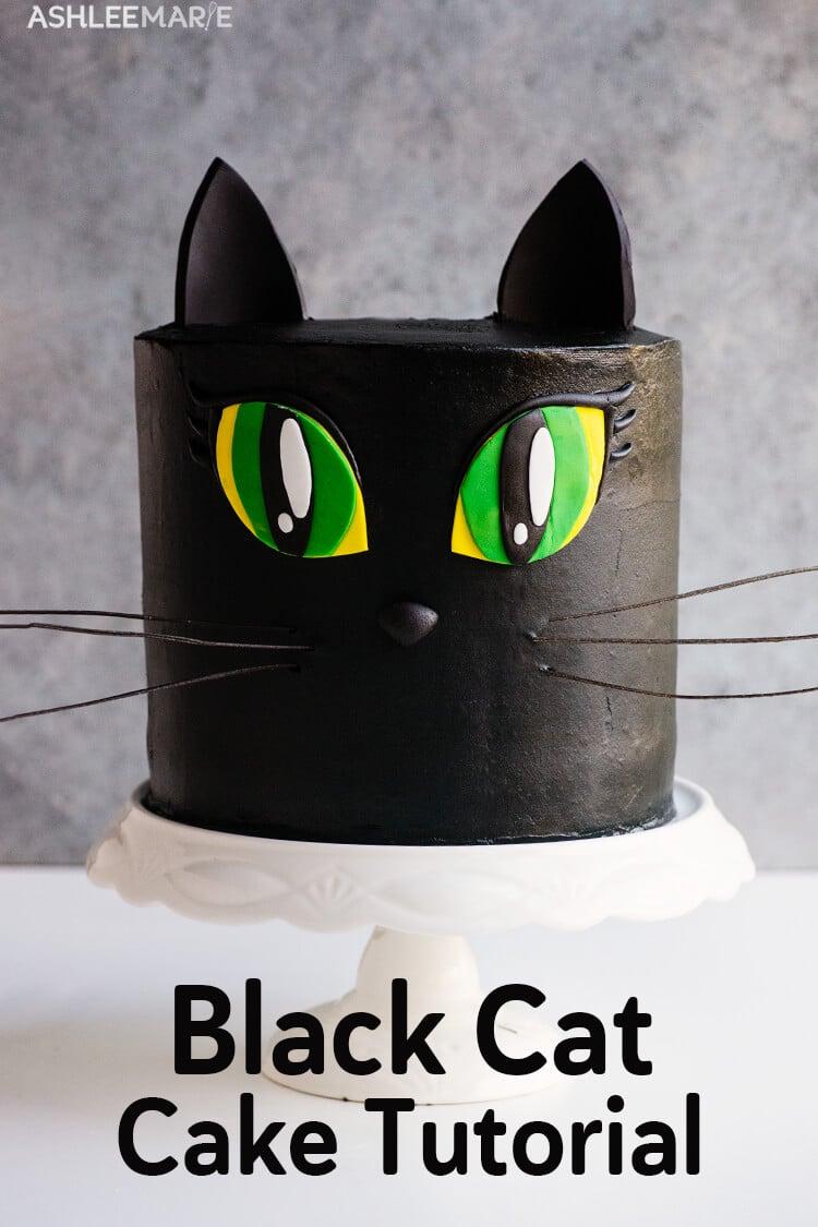 black cake tutorial