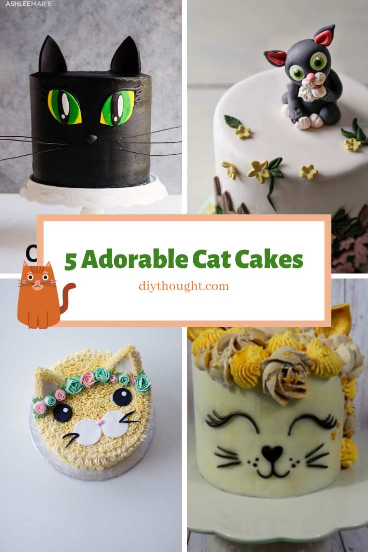 5 adorable cat cakes