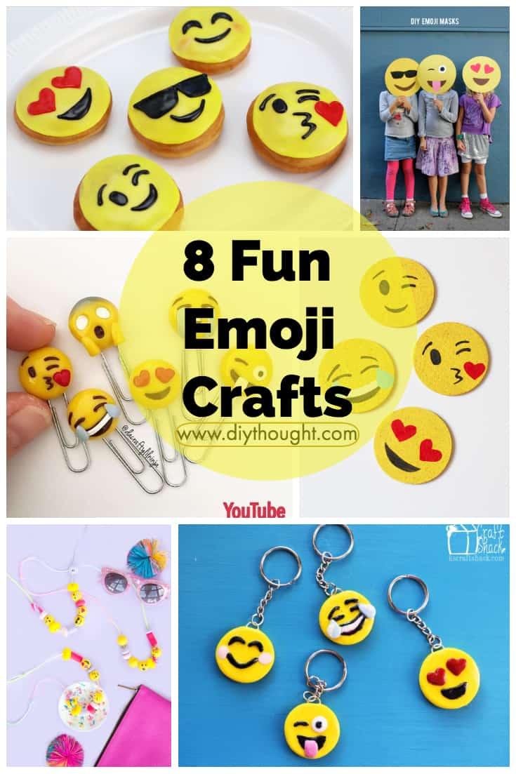 8 fun emoji crafts