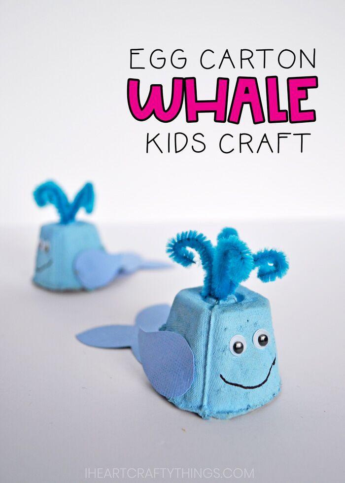 egg carton whale