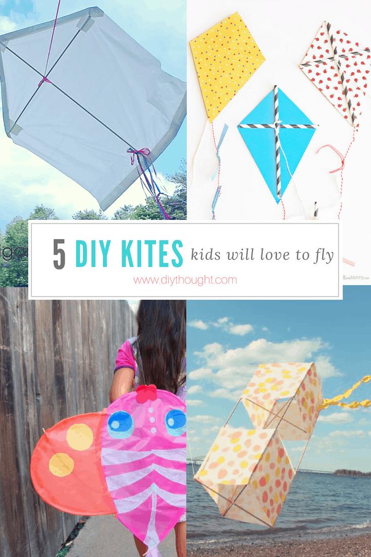 5 DIY Kites for Kids
