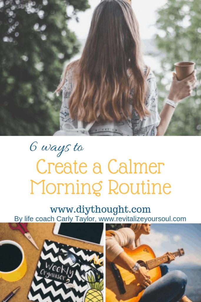 6 ways to create a calmer morning