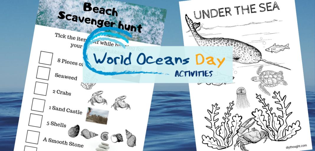 World Oceans Day Activities