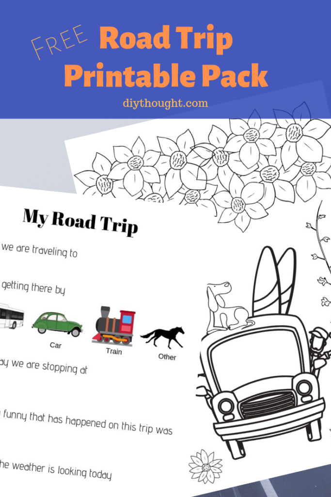 Free road trip print pack