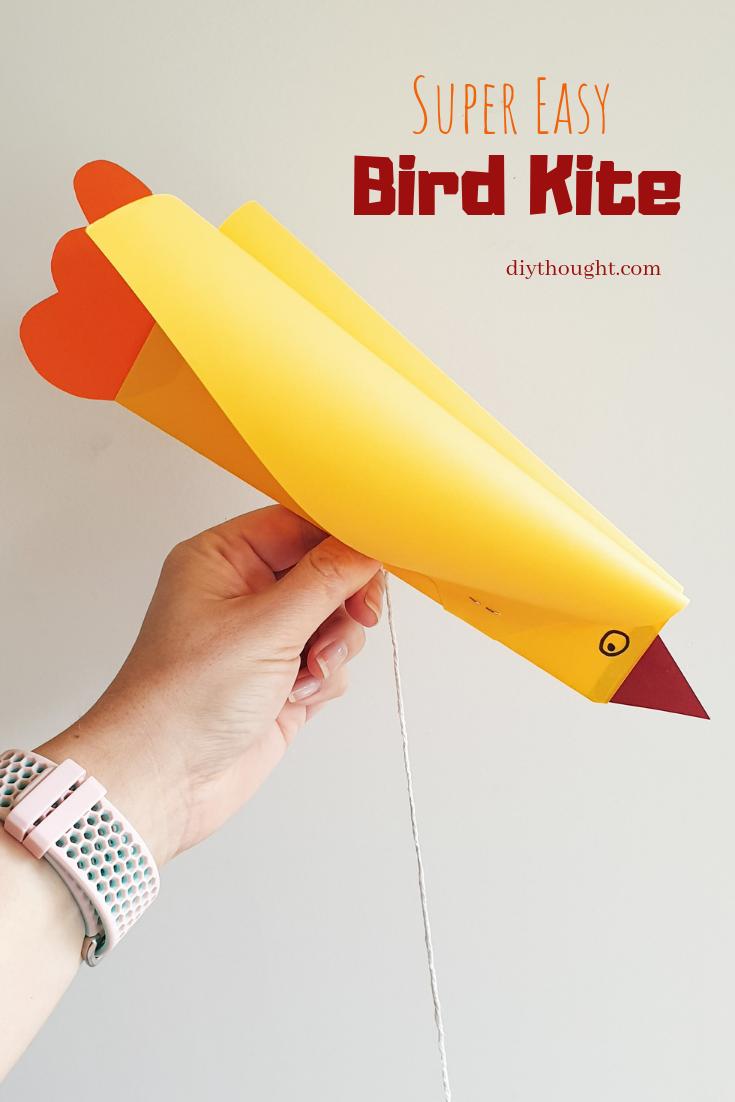 super easy bird kite