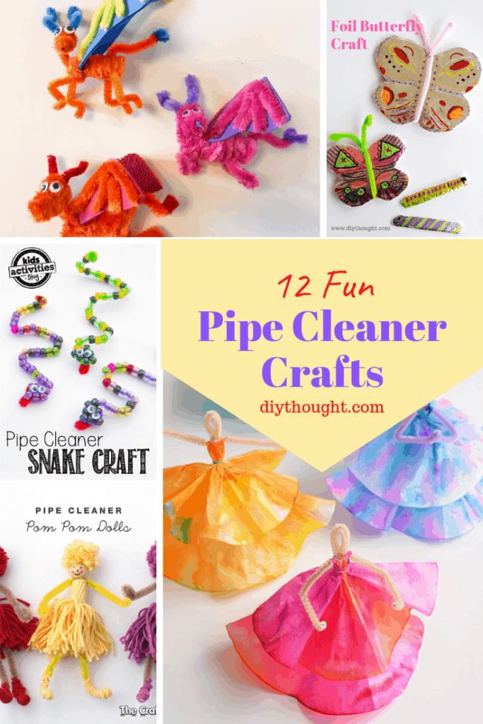 12 fun pipe cleaner crafts