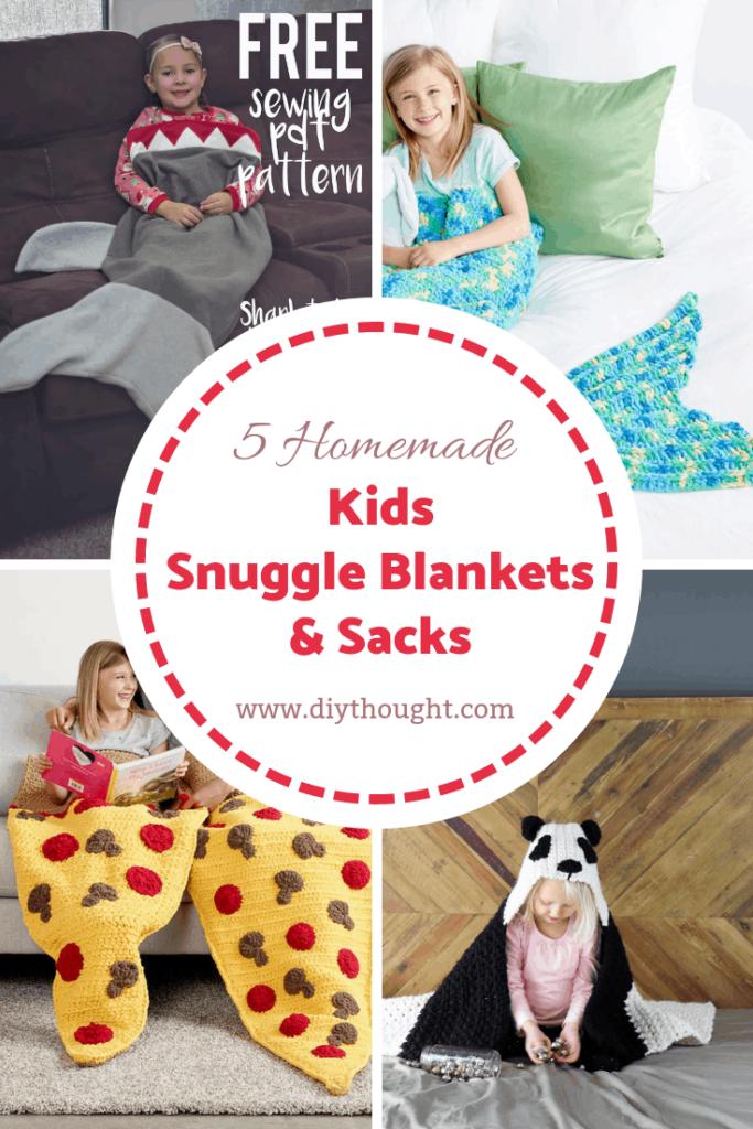 5 DIY Snuggle Sacks and Blankets
