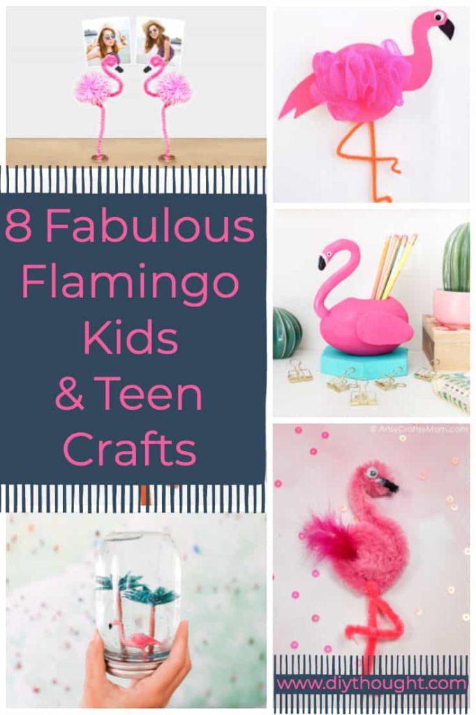 Flamingo crafts