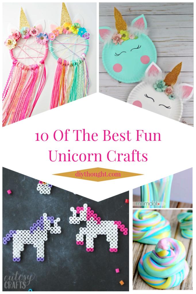 10 of the best fun unicorn crafts