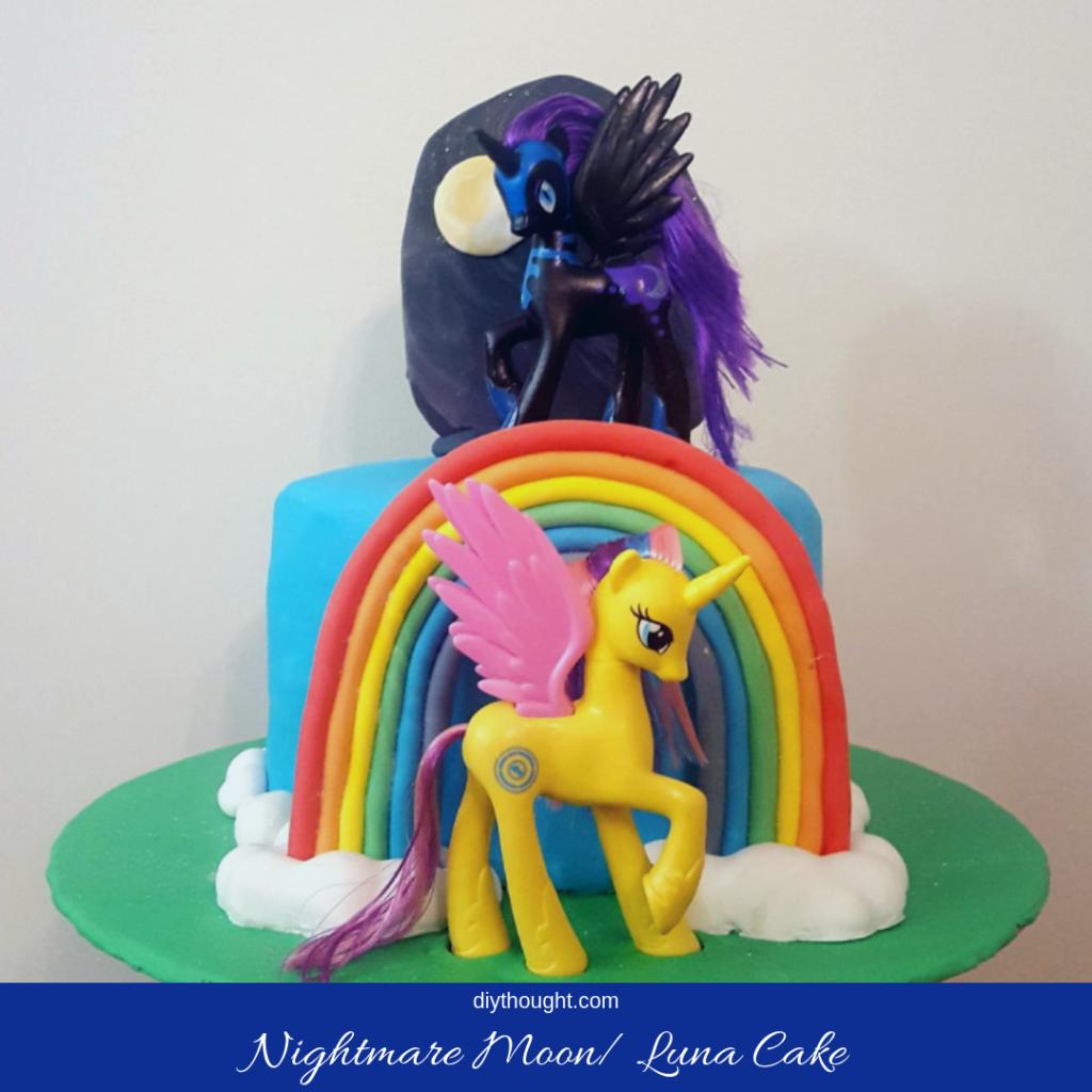 Nightmare Moon Cake