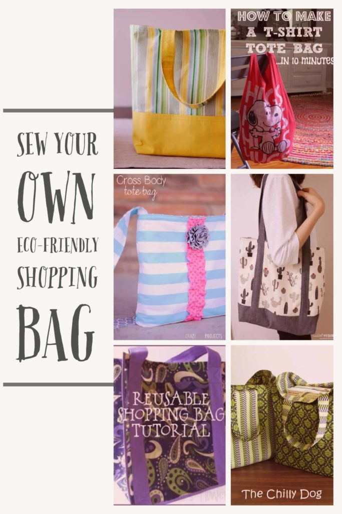 sew your own shopping bag