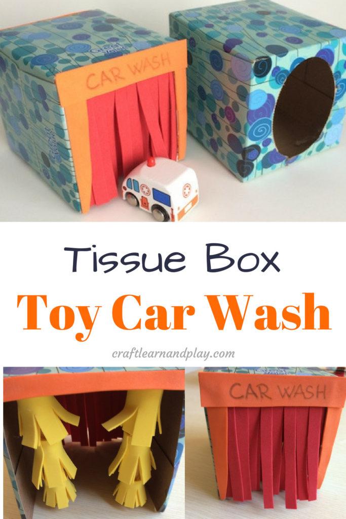 tissue box car wash