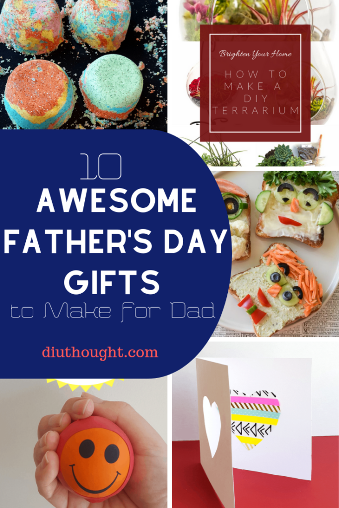 awesome father's day gifts to make