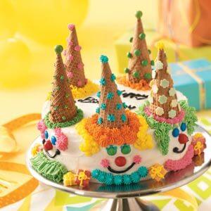 clown cone cake tutorial