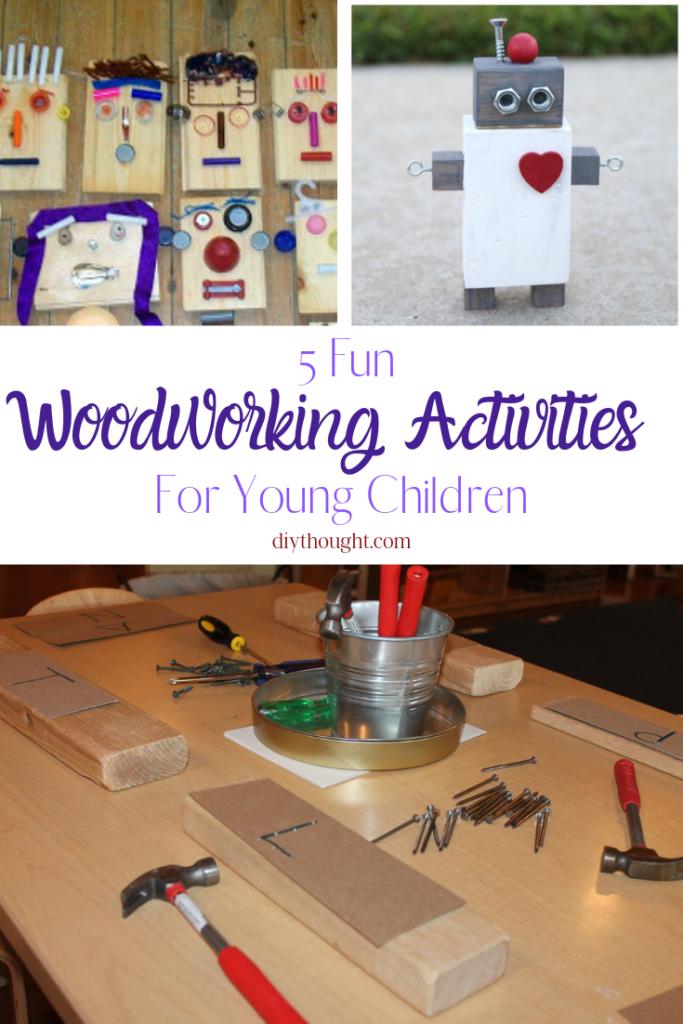 preschooler woodworking projects