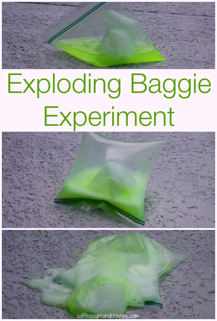 exploding bag experiment