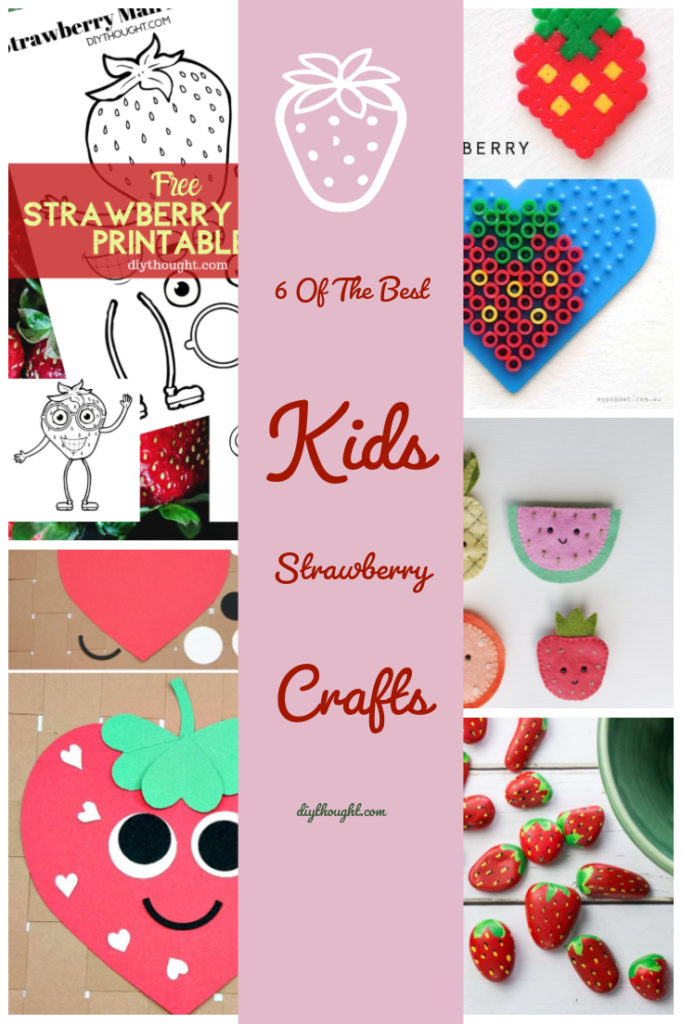 kids strawberry crafts